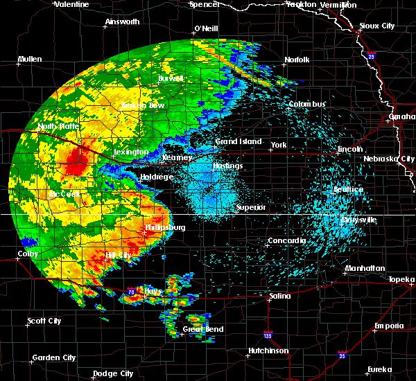 Radar Image for Severe Thunderstorms near Stockton, KS at 8/11/2019 11:38 PM CDT