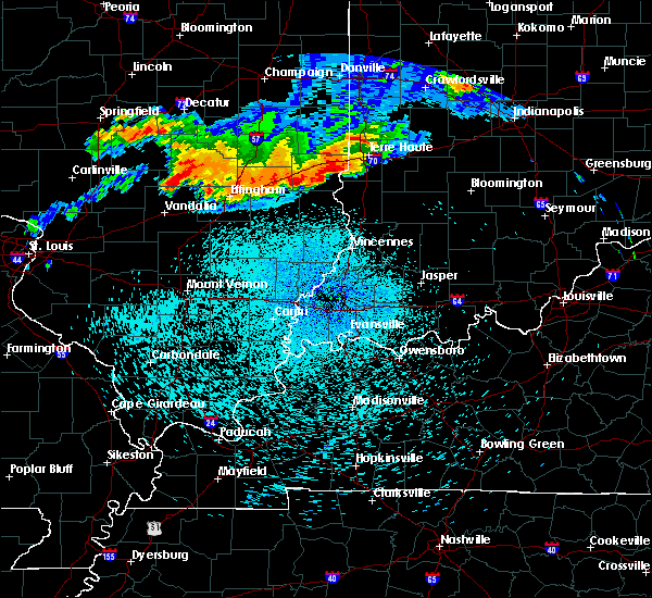 Radar Image for Severe Thunderstorms near Merom, IN at 8/13/2019 12:22 AM EDT
