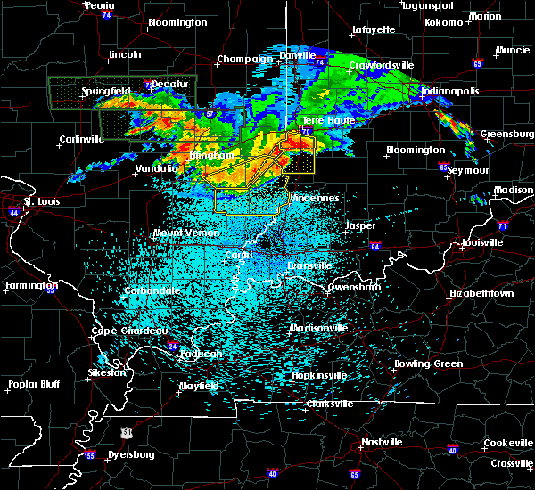 Radar Image for Severe Thunderstorms near Parkersburg, IL at 8/12/2019 11:53 PM CDT