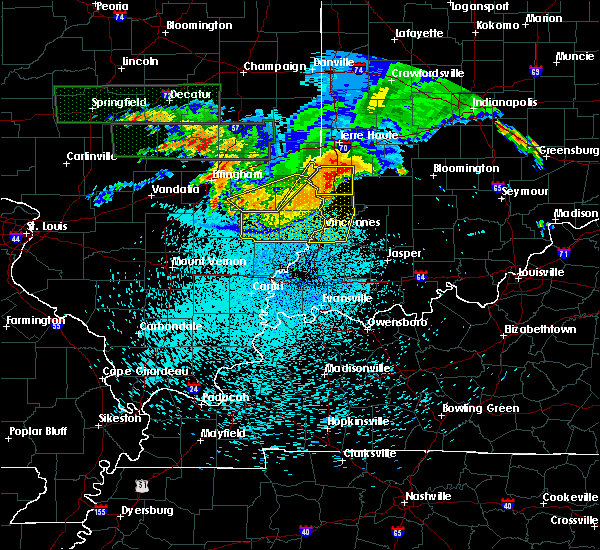 Radar Image for Severe Thunderstorms near Russellville, IL at 8/13/2019 12:09 AM CDT