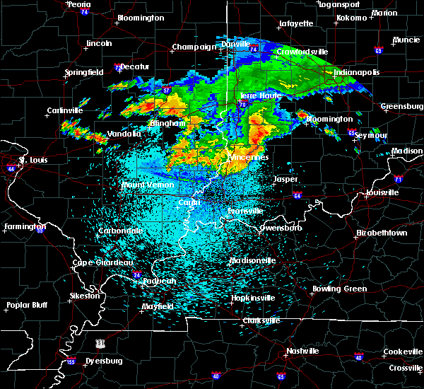 Radar Image for Severe Thunderstorms near Russellville, IL at 8/13/2019 1:41 AM EDT
