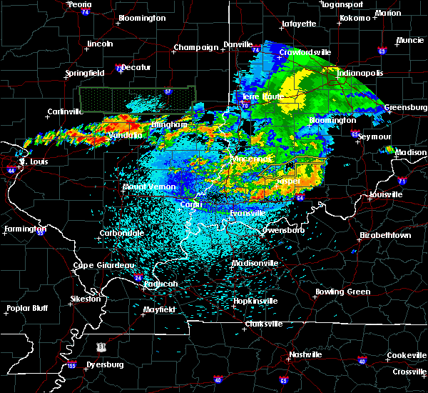 Radar Image for Severe Thunderstorms near Alfordsville, IN at 8/13/2019 2:43 AM EDT