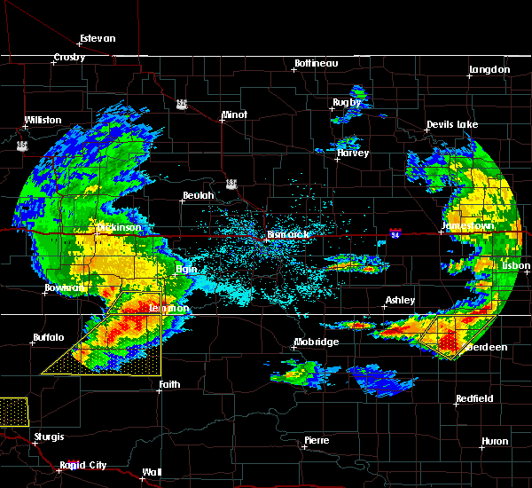 Radar Image for Severe Thunderstorms near Mott, ND at 6/21/2015 11:11 PM MDT