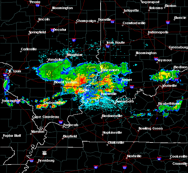 Radar Image for Severe Thunderstorms near Phillipstown, IL at 8/13/2019 4:48 AM CDT