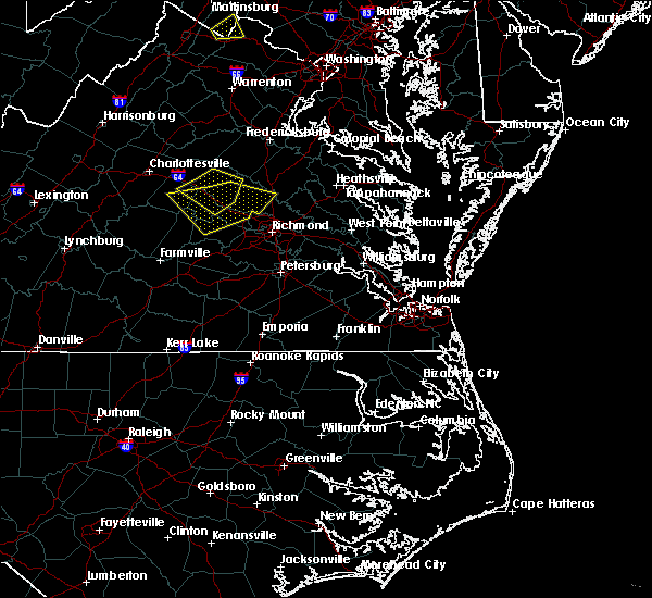 Radar Image for Severe Thunderstorms near Manchester, VA at 8/13/2019 9:44 PM EDT
