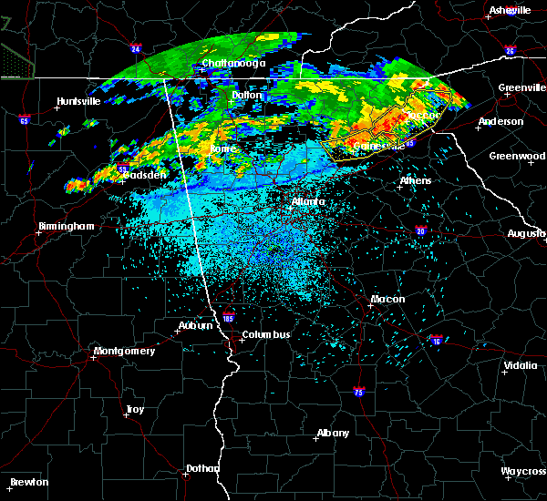Radar Image for Severe Thunderstorms near Clermont, GA at 8/13/2019 10:52 PM EDT