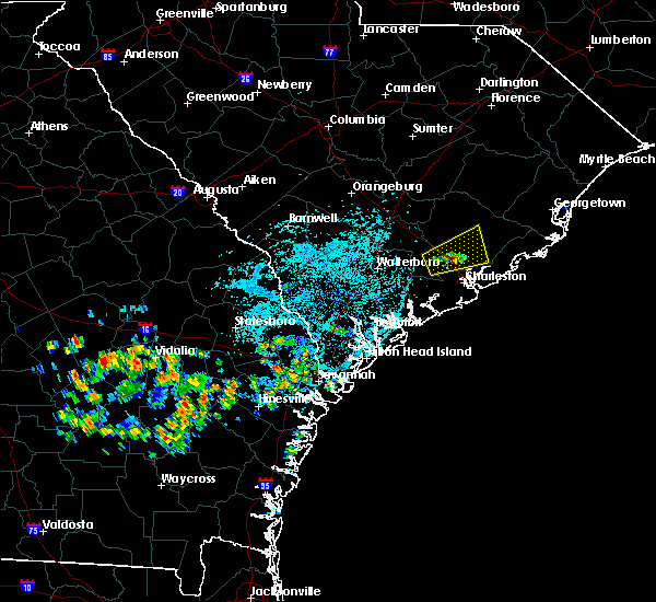 Radar Image for Severe Thunderstorms near Moncks Corner, SC at 8/14/2019 2:13 PM EDT