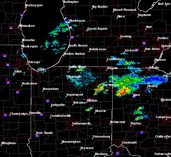Radar Image for Severe Thunderstorms near Middle Point, OH at 8/14/2019 8:46 PM EDT