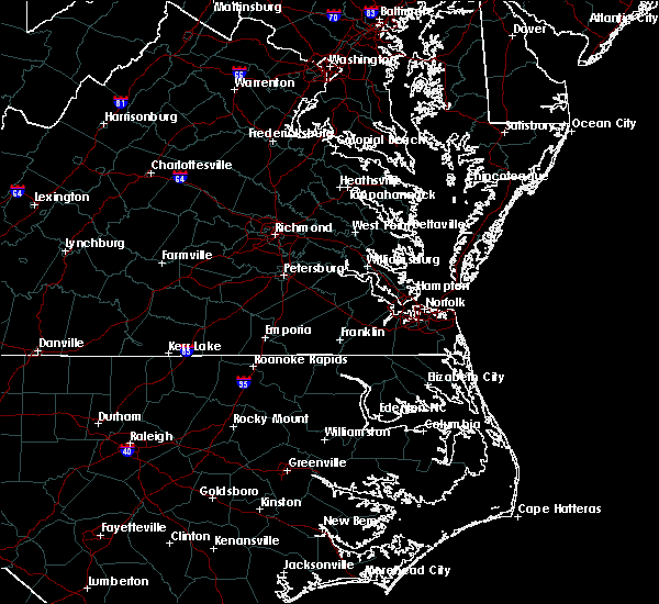 Radar Image for Severe Thunderstorms near Chesapeake, VA at 8/15/2019 4:59 PM EDT