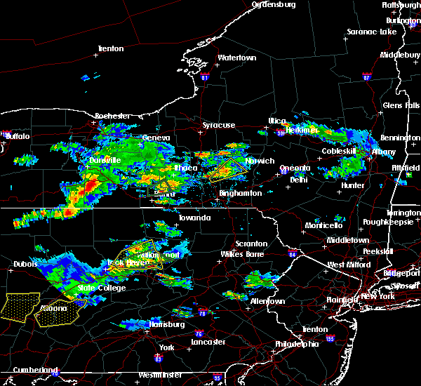 Radar Image for Severe Thunderstorms near Coopers Plains, NY at 8/15/2019 5:36 PM EDT