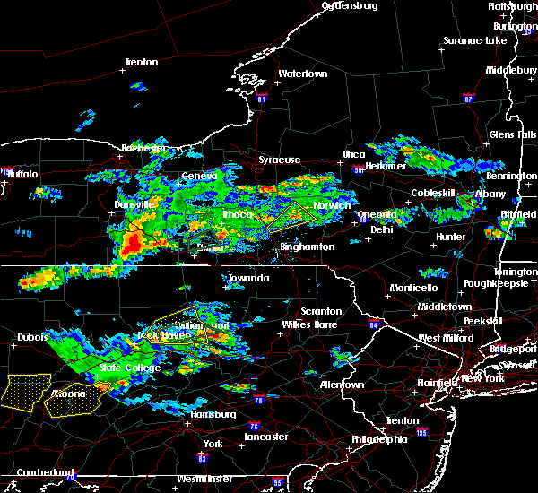 Radar Image for Severe Thunderstorms near Addison, NY at 8/15/2019 6:12 PM EDT
