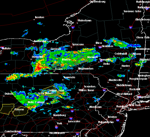 Radar Image for Severe Thunderstorms near Coopers Plains, NY at 8/15/2019 6:16 PM EDT
