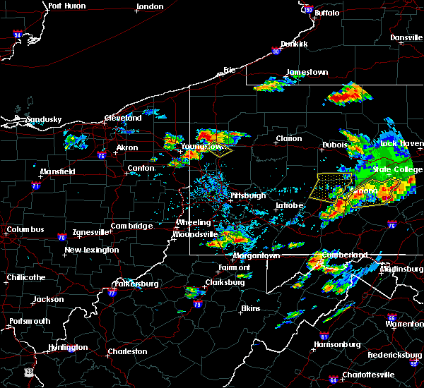 Radar Image for Severe Thunderstorms near Clark, PA at 8/15/2019 6:25 PM EDT