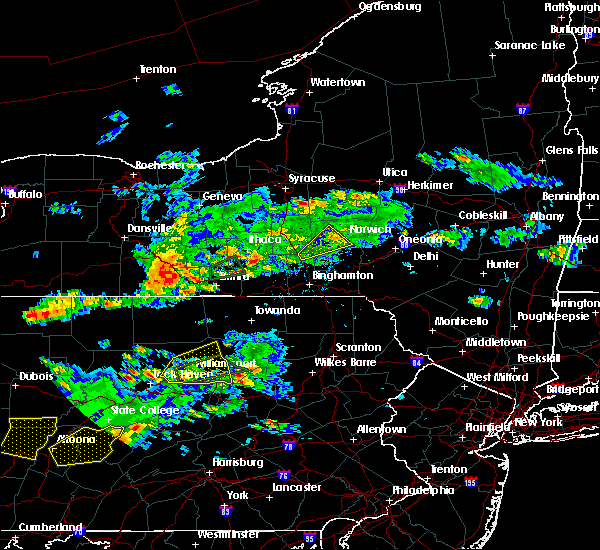 Radar Image for Severe Thunderstorms near Cazenovia, NY at 8/15/2019 6:28 PM EDT