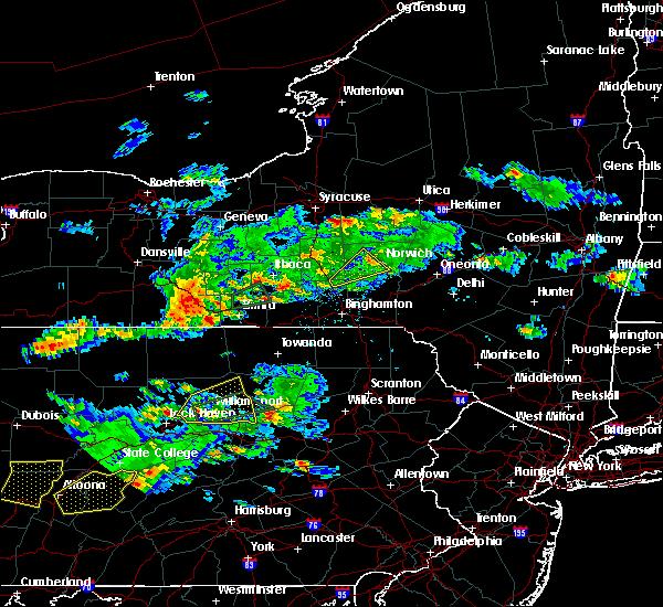Radar Image for Severe Thunderstorms near Cazenovia, NY at 8/15/2019 6:35 PM EDT