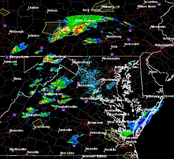 Radar Image for Severe Thunderstorms near La Vale, MD at 8/15/2019 6:40 PM EDT