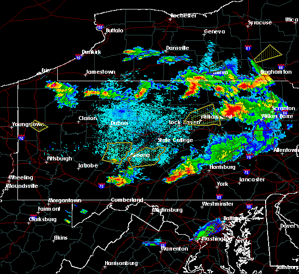 Radar Image for Severe Thunderstorms near Orrstown, PA at 8/15/2019 9:18 PM EDT