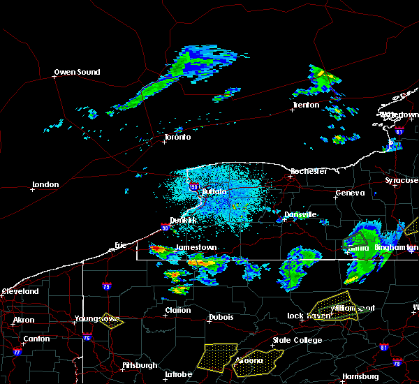 Radar Image for Severe Thunderstorms near Sinclairville, NY at 8/15/2019 10:16 PM EDT