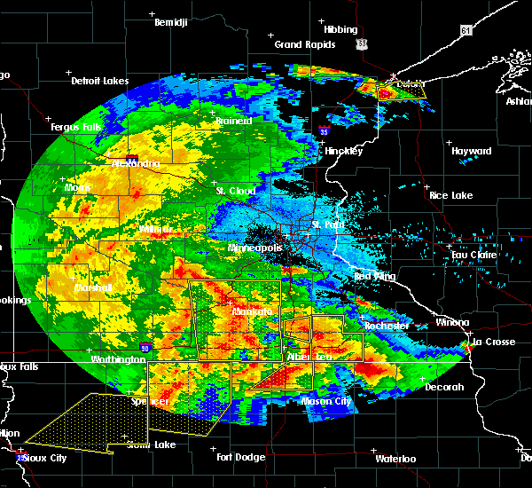 Radar Image for Severe Thunderstorms near Manchester, MN at 6/22/2015 6:24 AM CDT