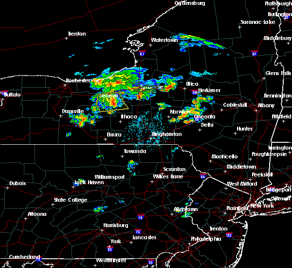 Radar Image for Severe Thunderstorms near Syracuse, NY at 8/16/2019 8:28 PM EDT