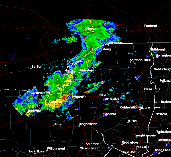 Radar Image for Severe Thunderstorms near Fairmount, NY at 8/17/2019 1:59 PM EDT