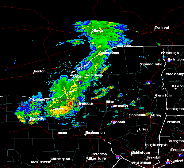 Radar Image for Severe Thunderstorms near Fairmount, NY at 8/17/2019 2:03 PM EDT