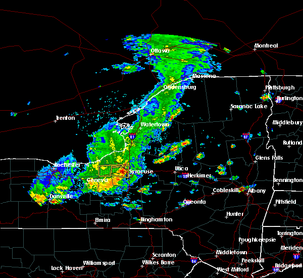 Radar Image for Severe Thunderstorms near Fairmount, NY at 8/17/2019 2:14 PM EDT
