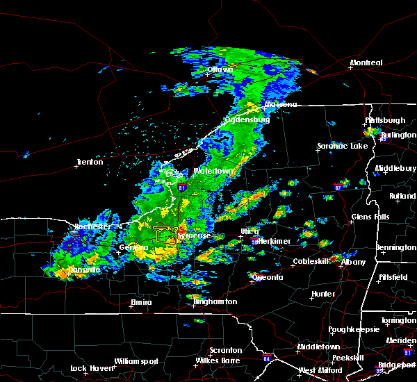 Radar Image for Severe Thunderstorms near Syracuse, NY at 8/17/2019 2:28 PM EDT