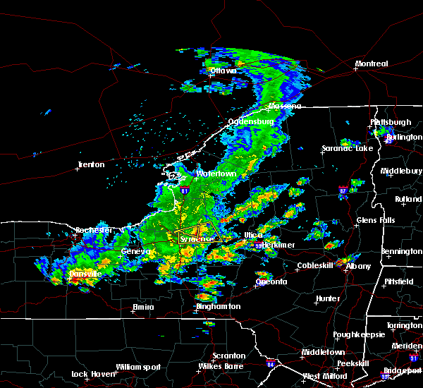 Radar Image for Severe Thunderstorms near Oneida, NY at 8/17/2019 2:52 PM EDT