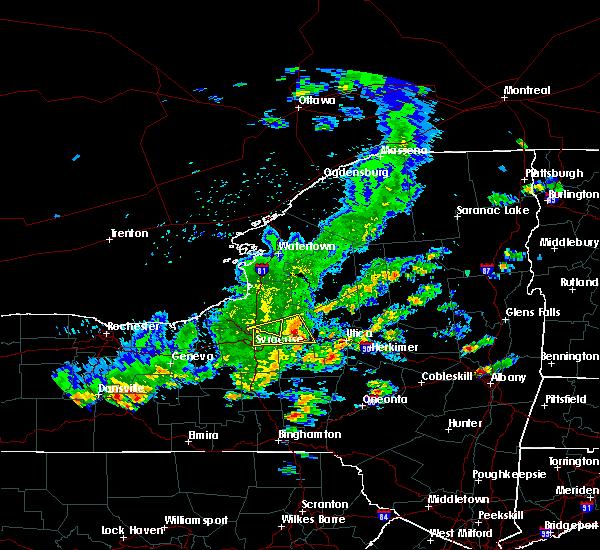 Radar Image for Severe Thunderstorms near Oneida, NY at 8/17/2019 2:59 PM EDT