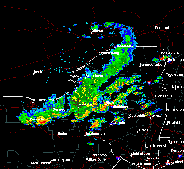 Radar Image for Severe Thunderstorms near Verona, NY at 8/17/2019 3:09 PM EDT