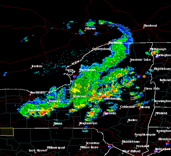 Radar Image for Severe Thunderstorms near Westmoreland, NY at 8/17/2019 3:26 PM EDT