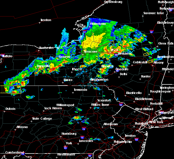 Radar Image for Severe Thunderstorms near Lodi, NY at 8/17/2019 3:25 PM EDT