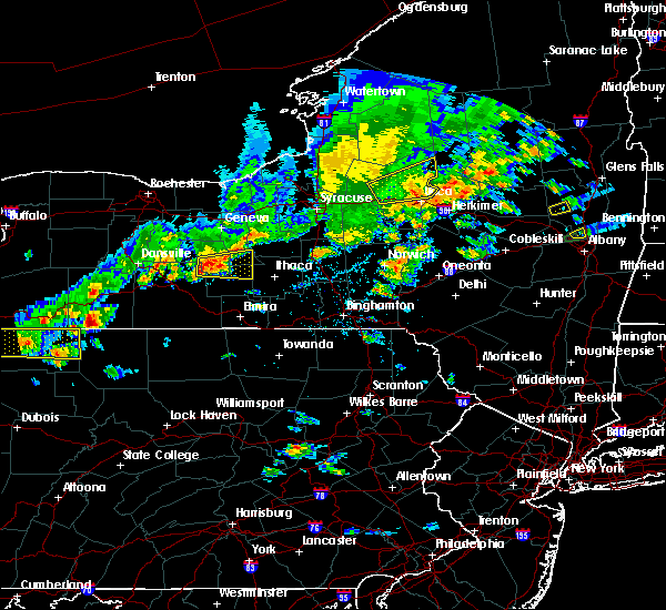 Radar Image for Severe Thunderstorms near Lodi, NY at 8/17/2019 3:32 PM EDT