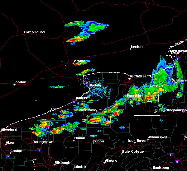 Radar Image for Severe Thunderstorms near Scio, NY at 8/17/2019 3:39 PM EDT