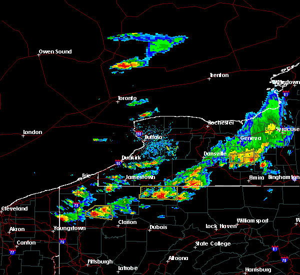 Radar Image for Severe Thunderstorms near Scio, NY at 8/17/2019 4:03 PM EDT