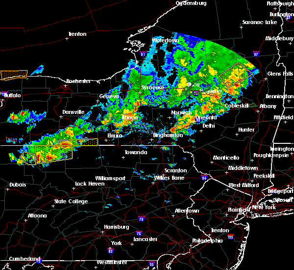 Radar Image for Severe Thunderstorms near Addison, NY at 8/17/2019 4:35 PM EDT