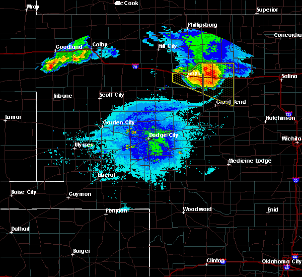 Radar Image for Severe Thunderstorms near Victoria, KS at 8/17/2019 9:48 PM CDT