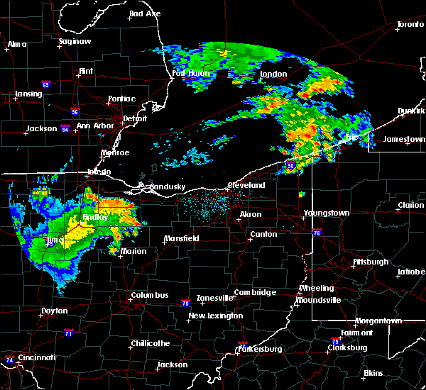 Radar Image for Severe Thunderstorms near Attica, OH at 8/18/2019 4:40 AM EDT