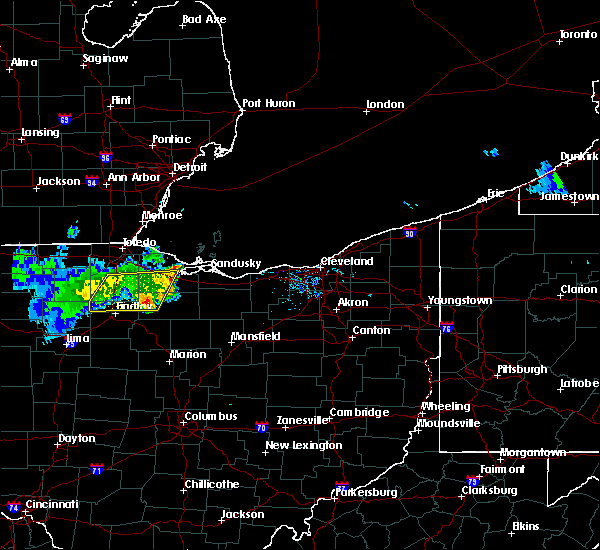 Radar Image for Severe Thunderstorms near Attica, OH at 8/18/2019 10:25 AM EDT