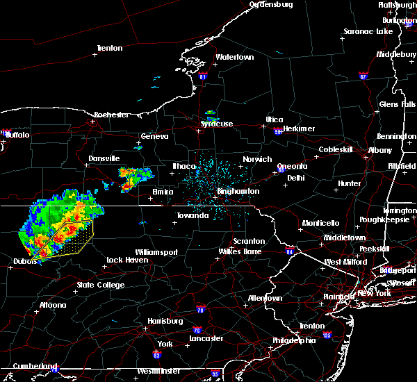 Radar Image for Severe Thunderstorms near Coopers Plains, NY at 8/18/2019 1:47 PM EDT