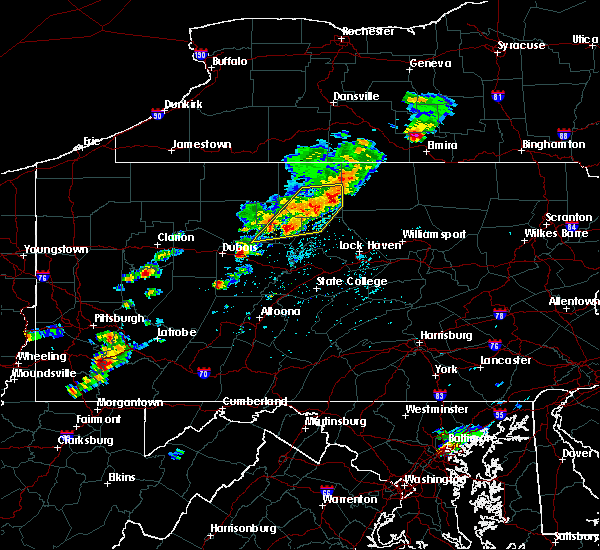 Radar Image for Severe Thunderstorms near Liberty, PA at 8/18/2019 2:13 PM EDT