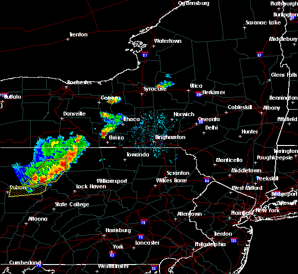 Radar Image for Severe Thunderstorms near Big Flats, NY at 8/18/2019 2:20 PM EDT