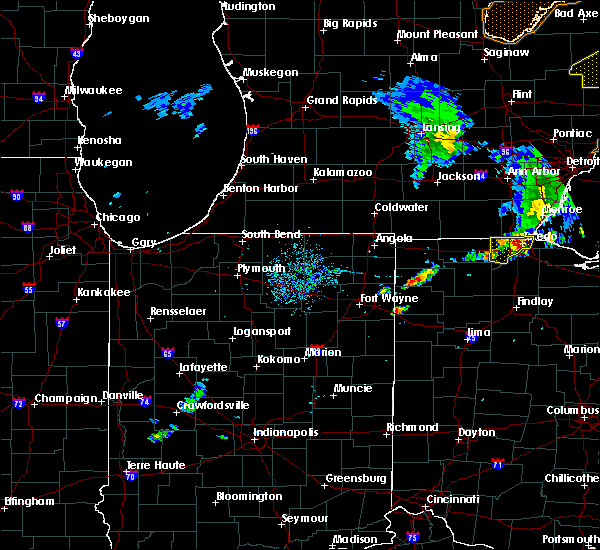 Radar Image for Severe Thunderstorms near Ney, OH at 8/18/2019 2:24 PM EDT