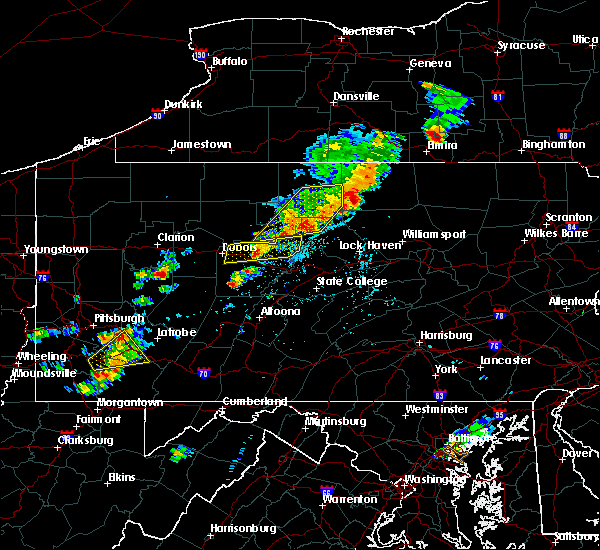 Radar Image for Severe Thunderstorms near South Renovo, PA at 8/18/2019 2:32 PM EDT