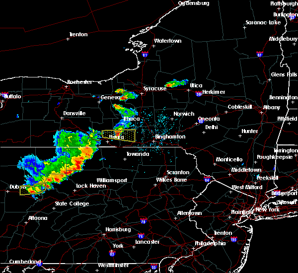 Radar Image for Severe Thunderstorms near Fairmount, NY at 8/18/2019 2:47 PM EDT