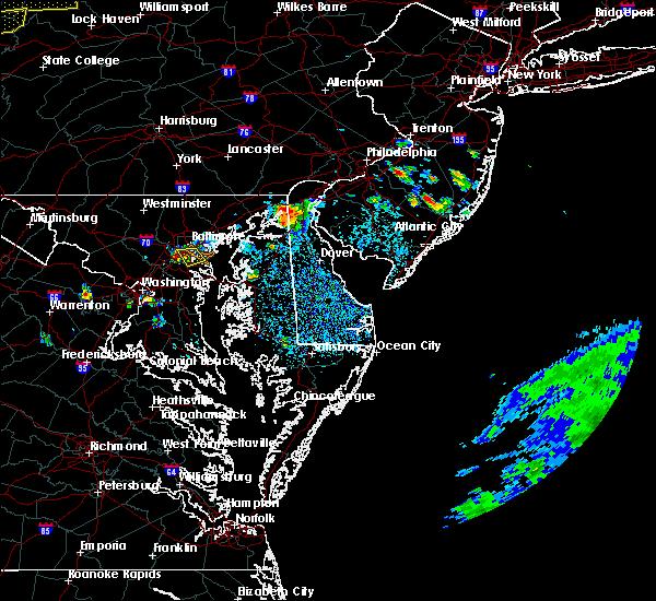 Radar Image for Severe Thunderstorms near Newark, DE at 8/18/2019 3:03 PM EDT
