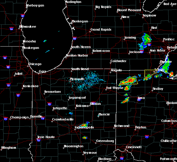 Radar Image for Severe Thunderstorms near Napoleon, OH at 8/18/2019 3:02 PM EDT