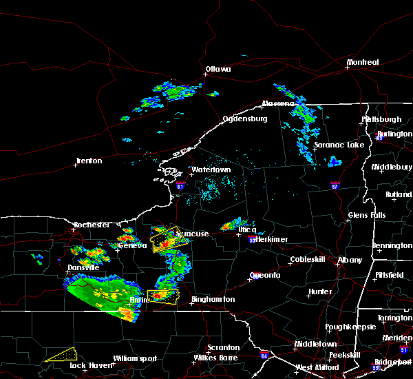 Radar Image for Severe Thunderstorms near Clyde, NY at 8/18/2019 3:17 PM EDT