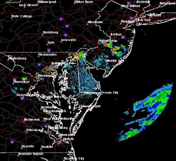 Radar Image for Severe Thunderstorms near Newark, DE at 8/18/2019 3:25 PM EDT